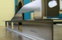 Nirosta 1.4404 Blech 5,0 CNC-Stanz-Laser-Abkantteil