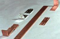 Kupferschiene E-Cu57 F25 CW004A  Cu-ETP Strom-Sammel-Schiene Schrumpfschlauch isoliert