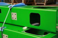Stahl Abkanten Biegen Profil Feuerverzinkt Duplex Freiluft Pulverbeschichtet C5-M